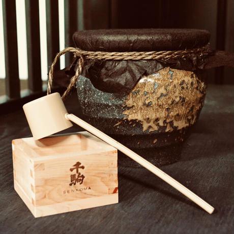 【要冷蔵】純米生原酒 かめ酒 1.8L
