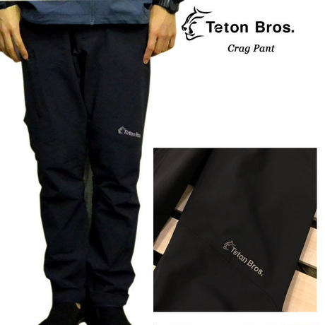 Teton Bros. ティートン ブロス Crag Pant Black メンズ パンツ クライミングパンツ 2019 春夏モデル Spring Summer TB191-17M