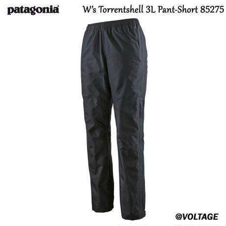 パタゴニア Patagonia W's Torrentshell 3L Pant-Short 85275 BLK XSサイズ  ウィメンズ・トレントシェル3L・パンツ(ショート)