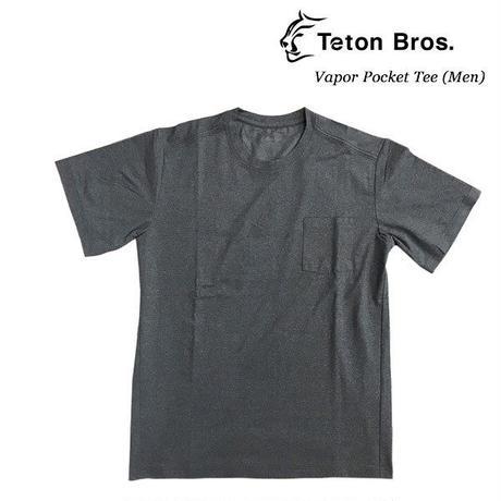 Teton Bros. ティートン ブロス  Vapor  Pocket Tee (Men)  Dark Shadow  メンズ 半袖 Tシャツ  速乾 2019 Spring Summer