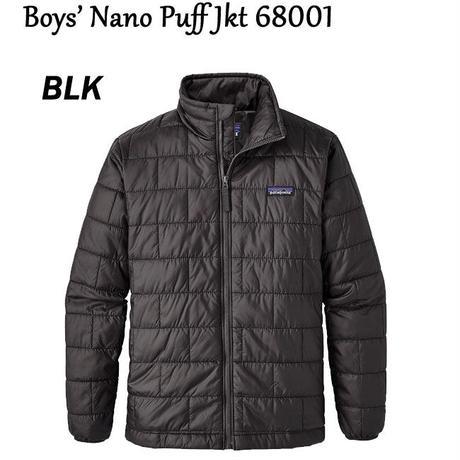 パタゴニア Boys' Nano Puff Jkt 68001 ボーイズ・ナノ・パフ・ジャケット キッズ 子供用 正規品