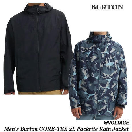 BURTON Men's Burton GORE-TEX 2L Packrite Rain  Jacket メンズ レイン ウエア ジャケット  2019 Spring&Summer