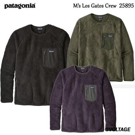 パタゴニア M's Los Gatos Crew  25895 メンズ・ロス・ガトス・クルー BLK BSNG PTPL 正規品