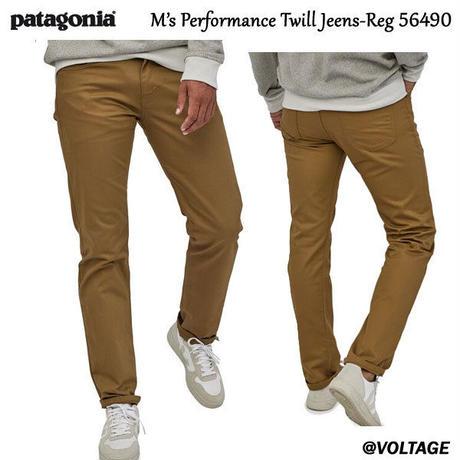 パタゴニア Patagonia M's Performance Twill Jeans-Reg 56490 メンズ・パフォーマンス・ツイル・ジーンズ(レギュラー)正規品