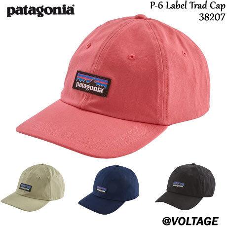 パタゴニア Patagonia P-6 Label Trad Cap 38207 メンズ・P-6 ラベル・トラッド・キャップ 正規品 19春モデル