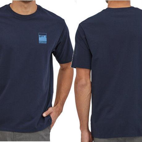 パタゴニア patagonia Alpine Icon ROC Pilot Cotton T-Shirt 37400 メンズ・アルパイン・アイコン・リジェネラティブ・オーガニックコットン・Tシャツ