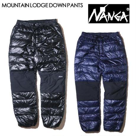 NANGA ナンガ MOUNTAIN LODGE DOWN PANTS マウンテンロッジダウンパンツ メンズ ダウンパンツ 防寒 NANGA DOWN WEAR 2020 AUTUMN/WINTER