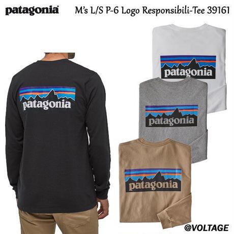 パタゴニア patagonia M's L/S P-6 Logo Responsibili-Tee 39161 メンズ・ロングスリーブ・P-6ロゴ・レスポンシビリティー 正規品