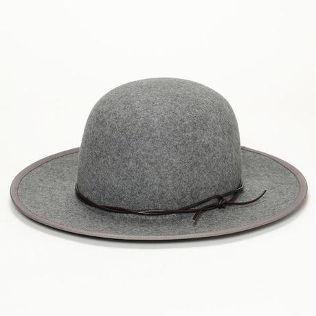 FLAT BRIM BOWLER HAT <BWH203U>