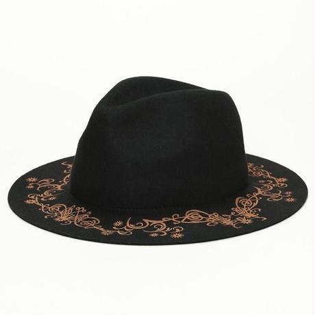 FLOWER MARKING HAT <BWH206U>
