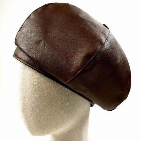FK LEATHER BERET <ESB531U>