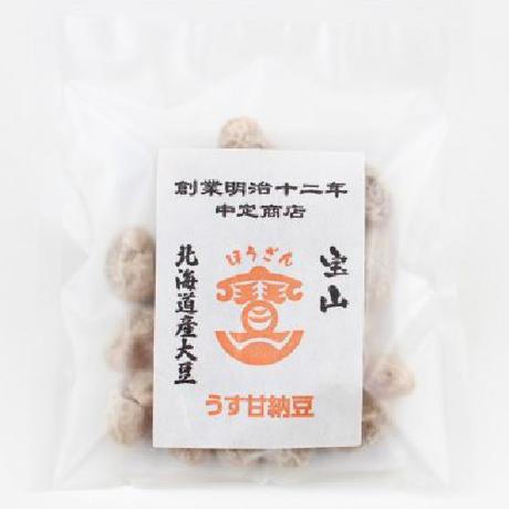 【中定商店】うす甘納豆 北海道産大豆