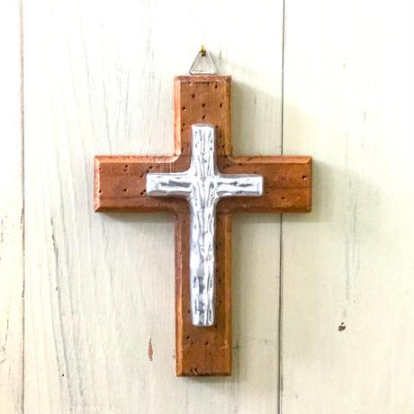 壁掛け木製十字架