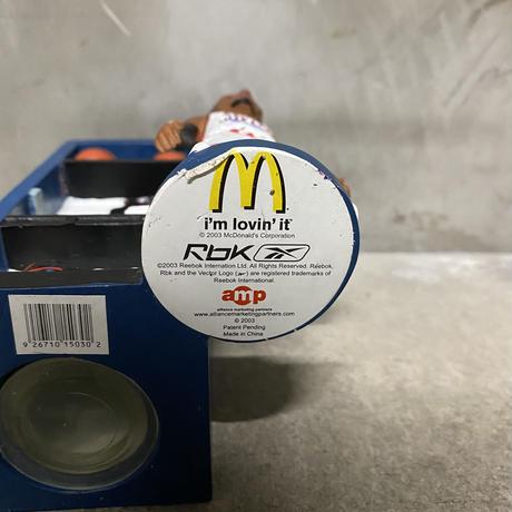 """2003McDonalds """"NBA Allen Iverson locker coinbank"""""""