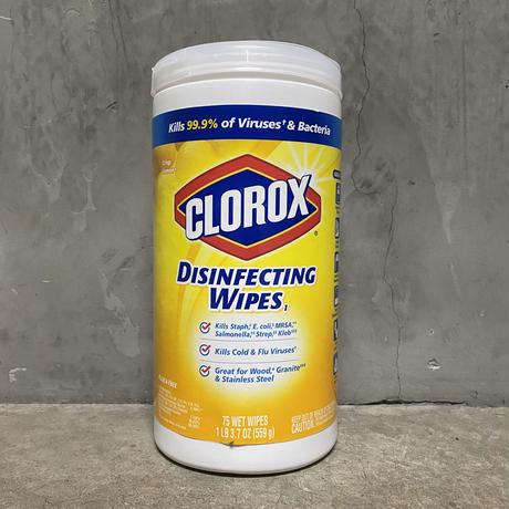 "CLOROX ""Disfecting Wipes"""