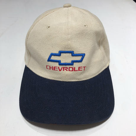 【USED】90's CHEVROLET 6panel CAP