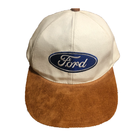 【DEAD STOCK】90's Ford 6panel cap