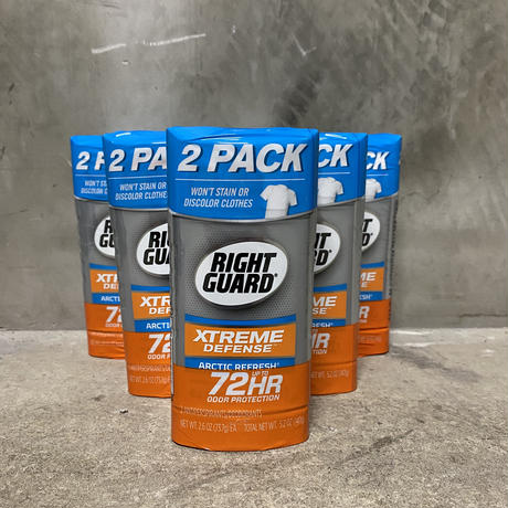 "RightGuard Extreme ""ARCTIC REFRESH"" Deodorant Stick 2pack"