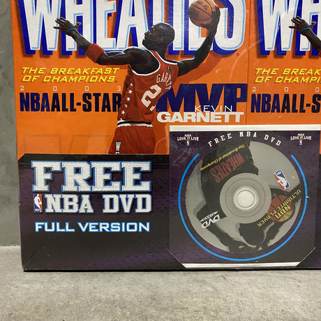 "Vintage Wheaties 2003NBA AllStar ""KG""2pack"