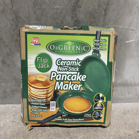 "Oregenic KitchenWare ""Ceramic Pancake Maker"""