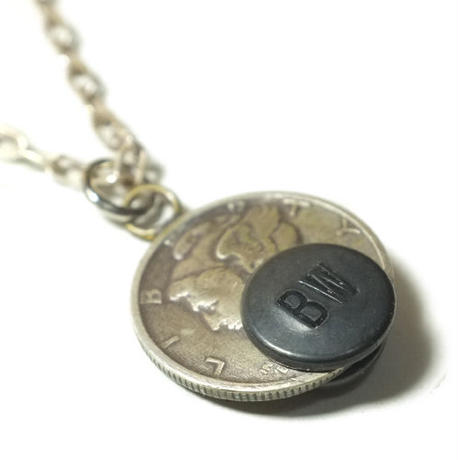 BUTTON WORKS  Mercury Dime Coin Necklace
