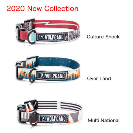 【WOLFGANG】2020 New Collection ドッグカラー(M)