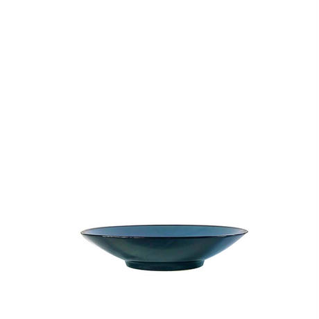BLACK AND BLUE TABLE WARE - 210 COUPE PLATE -