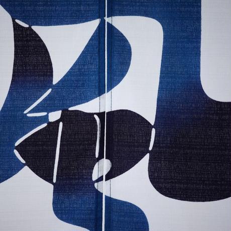綿暖簾 風の字文 85×120㎝