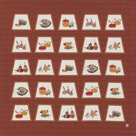 風呂敷90㎝幅 蔬果(そか)文