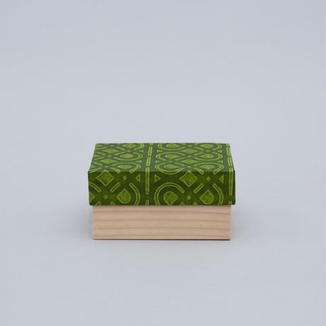 和紙箱・kikagaku(うぐいす)