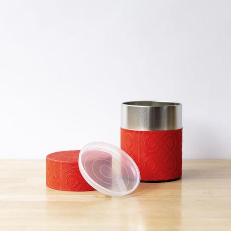 茶缶・大(赤)