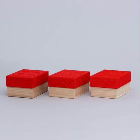 和紙箱・curve(赤)