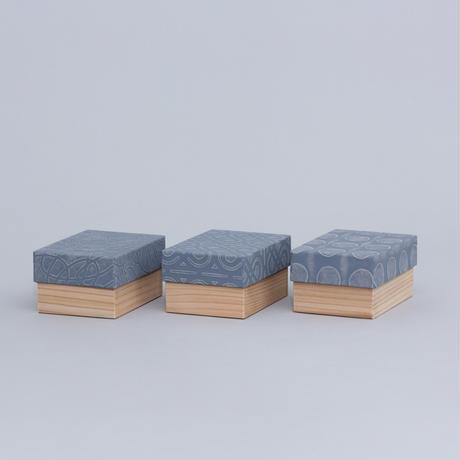 和紙箱・kikagaku(ねずみ)