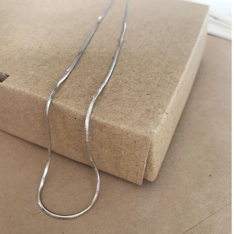 silver 925 snake chain necklace