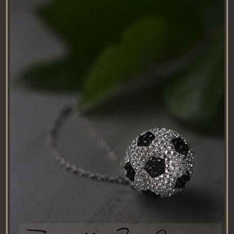 サッカーボールのバッグチャーム