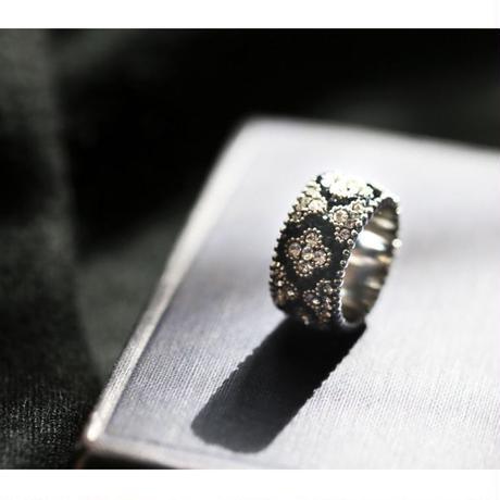 LOVE Choupette Moroccan Ring  setagaya*mama Version (Navy)
