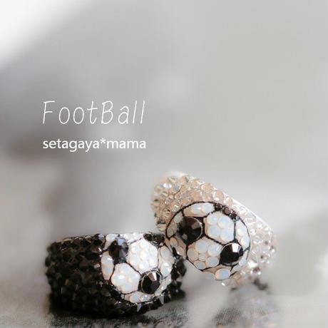 サッカーママ御用達  サッカー・デコリング 中サイズ