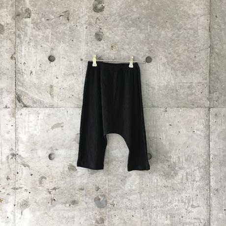 kids sarrouel pants (black)