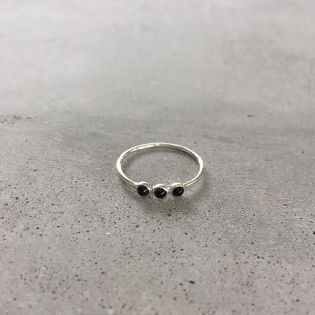silverring(onyx)