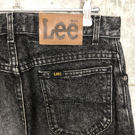 Lee black denim   A104