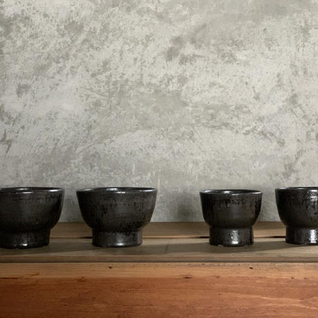 亀田大介 鉄釉碗