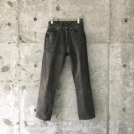 Levi's black denim (made in USA)  B2