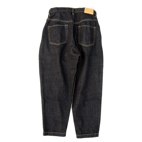 two tuck tapered jeans