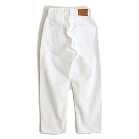 12oz SELVAGE CROPPED JEANS(WHT)
