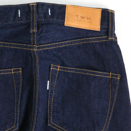 12oz SELVAGE CROPPED JEANS