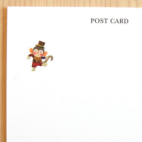 ポストカード《おさるダンス》
