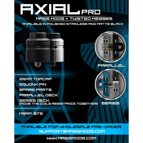 AXIAL PRO RDA TWISTEDMESSES + MassMods