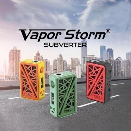 VAPOR STORM SUBVERTER BOX MOD 200w