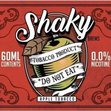 Shaky Brew Apple Tobacco 60ml