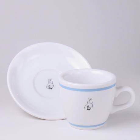 コーヒーカップ&ソーサー light blue